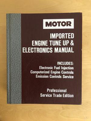 MOTOR Imported Engine TuneUp & Electronics Manual $10 for Sale in San Bernardino, CA