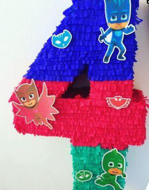 Pj mask Custom number piñata for Sale in Doral, FL