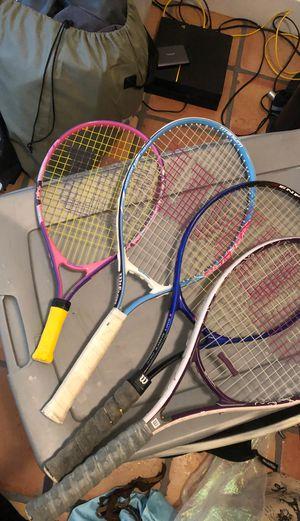 Lot of tennis rackets for Sale in Aventura, FL
