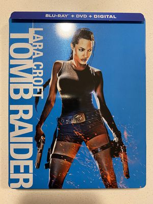 Tomb Raider Bluray Dvd Steelbook for Sale in Aurora, CO