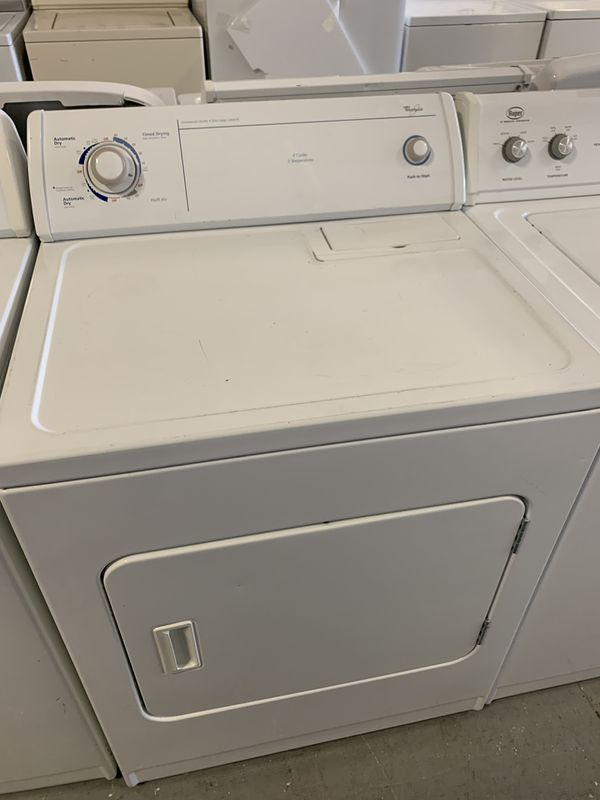 Whirlpool top load washer and dryer electric with warranty