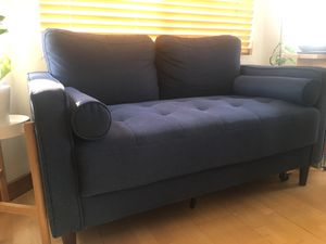 Modern Blue Couch for Sale in Pico Rivera, CA