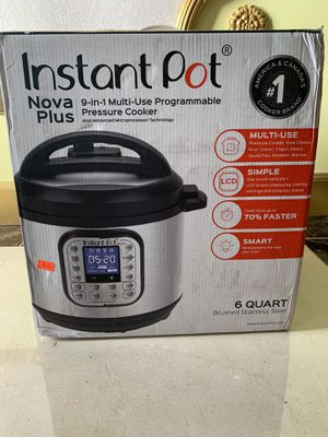 Instant Pot Nova Plus 9-in-1 Multi-Use Pressure Cooker for Sale in Los Angeles, CA