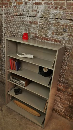 Extra-Large Metal Bookcase / book shelf /bookshelves for Sale in Seattle, WA