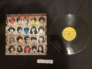 The Rolling Stones Some Girls Vinyl Record Classic Rock Mick Jagger for Sale in San Diego, CA