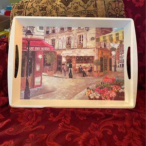 Home Essential Hard Plastic Decorative Tray for Sale in San Antonio, TX
