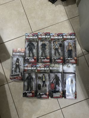 The walking dead figures for Sale in Port Richey, FL