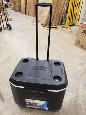 Coleman rolling cooler $30 FIRM for Sale in Redlands, CA