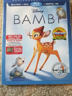 Bluray/DVD combo - Bambi for Sale in Lewisville,  TX