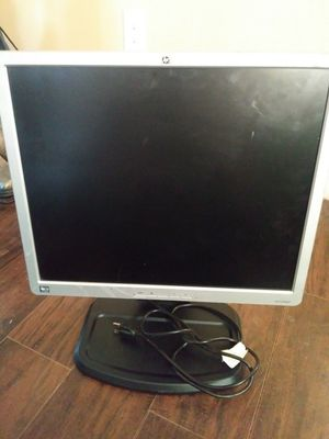 HP flatscreen Hewlett-Packard computer monitor for Sale in Manassas, VA