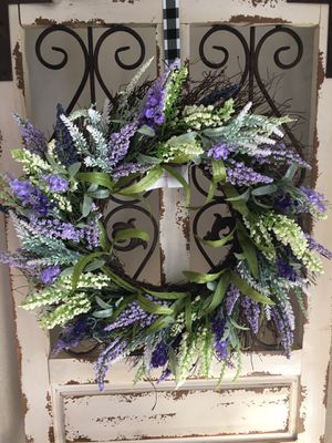 Lilac wreath 22inches for Sale in Colorado Springs, CO