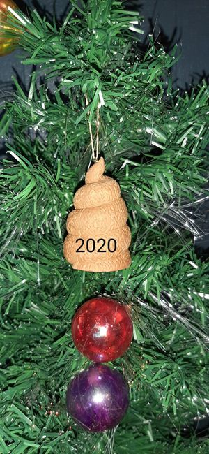 Set of 5 Christmas ornaments Poops 2020 for Sale in Pomona, CA
