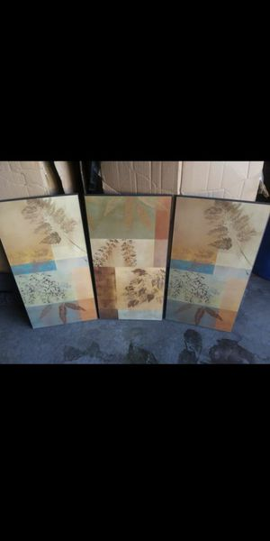 3pc Wall Decor for Sale in Fresno, CA