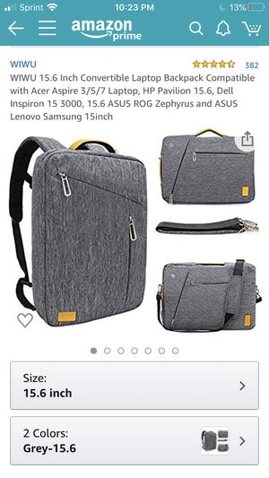New laptop bag, 15.6 inch laptop or smaller for Sale in Fresno, CA