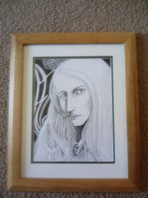 Ink drawing for sale $200 for Sale in Norfolk, VA