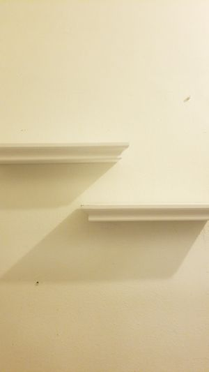 2 White Wall Shelves for Sale in The Bronx, NY