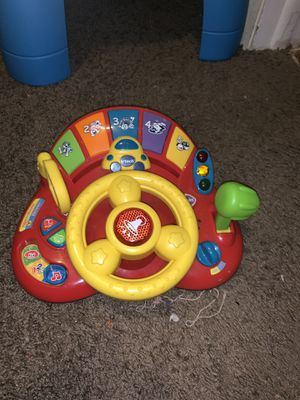 Baby toy learning steering wheel for Sale in Tampa, FL