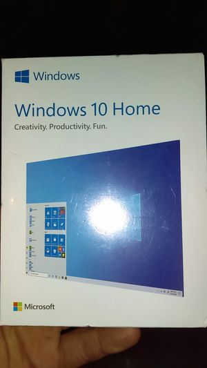 Windows 10 Home Edition USB (BOTH 64 and 32 bit) for Sale in Redlands, CA