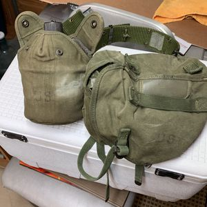 Vintage Canteen And Hip Bag Belt Is Newer for Sale in Utica, NY