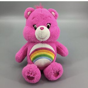"""Cheer Care Bear Hot Pink 16"""" Tall 2016 Those Characters Rainbow Stuffed Animal for Sale in Punta Gorda, FL"""
