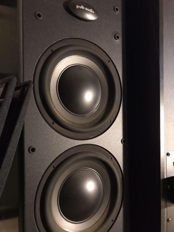 Polk audio pre-amped Towers