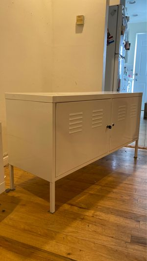 White Metal Cabinet. IKEA PS for Sale in Seattle, WA