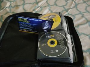 Bible on CD / One DVD (NIV Version) for Sale in Raleigh, NC