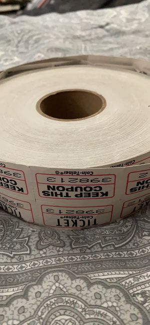 Roll of tickets for Sale in Montgomery, IL