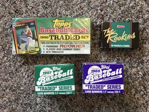 Baseball Traded Sets for Sale in Woodbridge Township, NJ