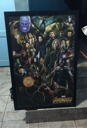 Avengers Infinity War Poster Board for Sale in Irwindale, CA