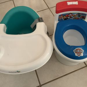 Paw Patrol Potty Chair And Booster Seat for Sale in Glendale, AZ