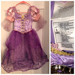 5-6 Rapunzel dress for Sale in Coconut Creek, FL