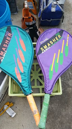 Spalding Tennis Rackets for Sale in Thomasville, NC