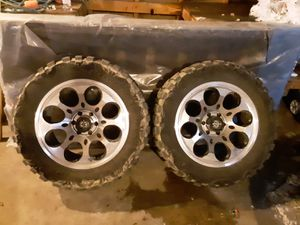 33x12.50 rim 20 6 bolts for Sale in Arkansaw, WI