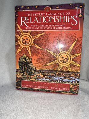 The Secret Language of Relationhips : Your Complete Personology Guide to Any... for Sale in Bridgeport, CT