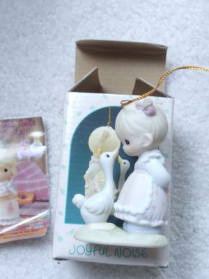 New..Precious moments` Christmas ornament for Sale in Zionsville, IN