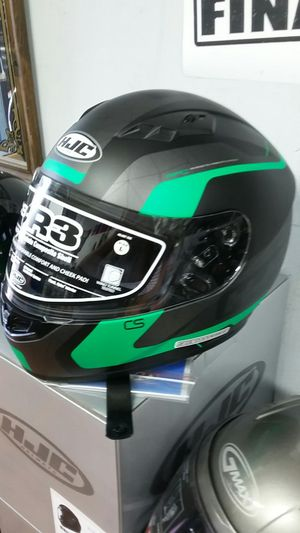 Motorcycle full face helmet size large Kawasaki Green Design for Sale in Los Angeles, CA