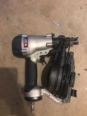 Porter cable nail/roofing gun for Sale in Southwick, MA
