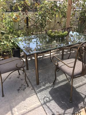 Glass dining table set for Sale in Las Vegas, NV