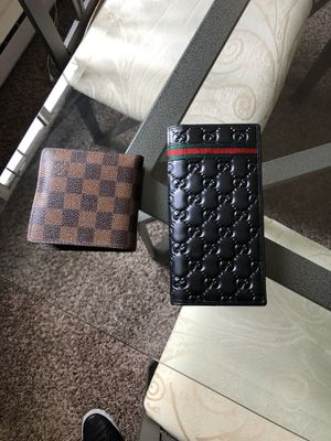 Wallet Gucci and Louis vuitton for Sale in Norristown, PA