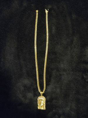 Real Gold Chain & Charm for Sale in Grand Prairie, TX