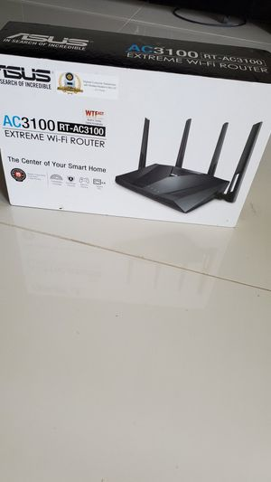 Asus Wireless AC3100 Gigabit Router (RT-AC3100) for Sale in Miami, FL