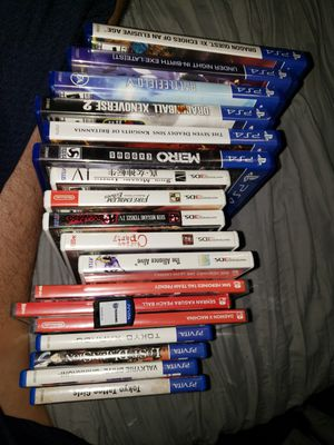 Game lot ps4, switch, 3ds, and psvita for Sale in The Bronx, NY