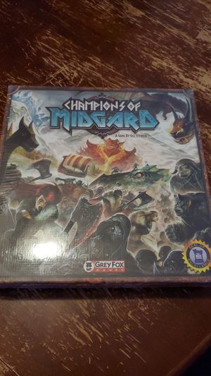 Champions of Midgard Board Game - Unopened for Sale in Tempe, AZ