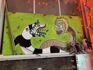 15x30 beetlejuice canvas for Sale in Miami, FL