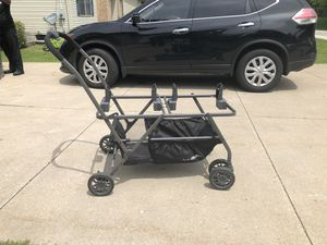 Joovy Twin Roo Double Car Seat stroller for Sale in Chagrin Falls, OH