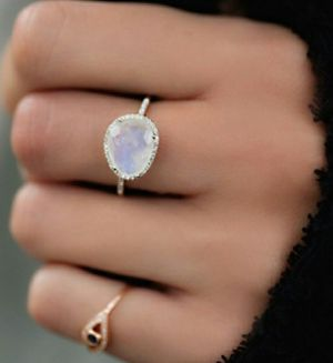 Moonstone Ring in Gold , Rose Gold and Silver for Sale in Wichita, KS