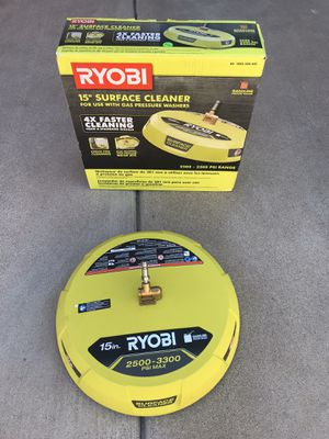 RYOBI 12 in. 2,500 PSI Electric Pressure Washers Surface Cleaner for Sale in Phoenix, AZ