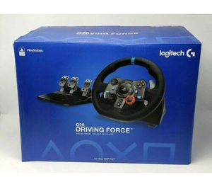 Logitech Dual-motor Feedback Driving Force G29 Gaming Racing Wheel with Pedals for Sale in Sewickley, PA