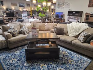 Sectional Sofa, Beige for Sale in Huntington Beach, CA